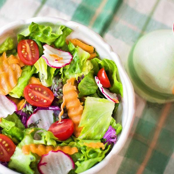 Salatteller der Saison