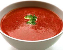 Feine Tomatensüppchen