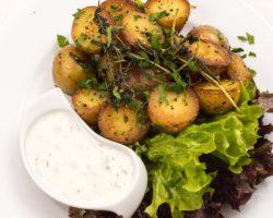 Ofenkartoffel mit
