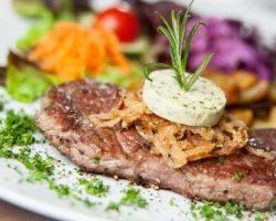 Pikante Steakpfanne